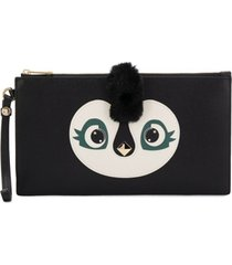 furla clutch allegra envelope - preto