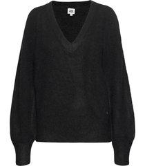 valeria sweater gebreide trui zwart twist & tango