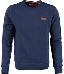 superdry blauwe sweater