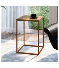 mesa lateral industrial artesano cube grande vermont e cobre
