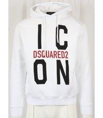 dsquared2 felpa hoodie