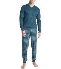 calida relax streamline 2 pyjama with cuff * gratis verzending *