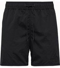 aime' leon dore shorts core in nylon nero