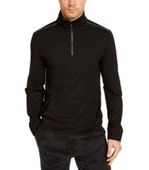 calvin klein men's ck move 365 long sleeve quarter zip sweatshirt