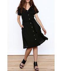 joelle crepe dress