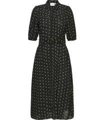 belinagz dress ao20 jurk knielengte zwart gestuz