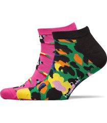 2-pack toucan low sock ankelstrumpor korta strumpor multi/mönstrad happy socks