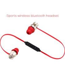 audífonos bluetooth estéreo hd manos libres deportivos, bt-kdk02 deporte audifonos bluetooth manos libres  auricular inalámbrico bajo estéreo auricular magnético (oro)