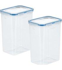 lock n lock easy essentials pantry 5 cup food storage containers, set of 2