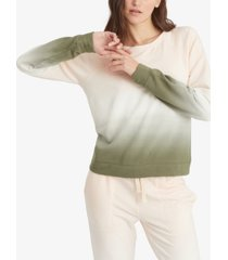 sanctuary ombre raglan sweatshirt