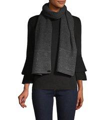 studded knit scarf