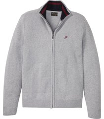 cardigan con mix di  motivi a maglia (grigio) - bpc selection