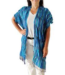 kimono turquesa spiga 31