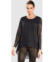 blouse amy vermont zwart