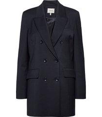 magrethegz blazer ma20 blazers over d blazers blauw gestuz