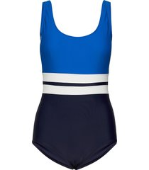 piquant swimsuit baddräkt badkläder blå abecita