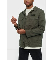 dr denim owen jacket jackor emerald