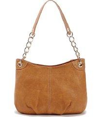 secchiello per borsa a catena in pelle pu vintage borsa spalla borsas per donna