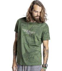 camiseta svk earth - verde oliva - verde - masculino - algodã£o - dafiti