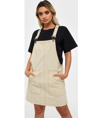 noisy may nmisla s/l dungaree dress loose fit dresses