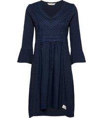doris dress kort klänning blå odd molly