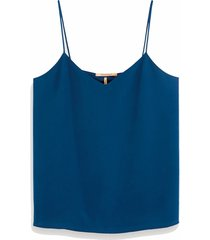 153076 3227 jersey and woven mixed tank top