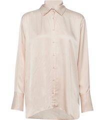 costume x inwear shirt overhemd met lange mouwen roze inwear