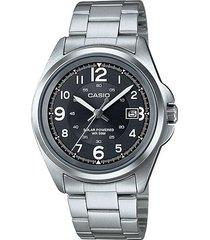 reloj casio casio mtp-s101d-1b plateado