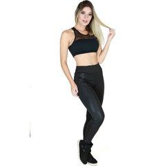 calça legging montaria couro flanelada bravaa modas 068 preto