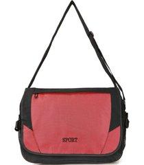 bolso maletín sport rojo kubayoff