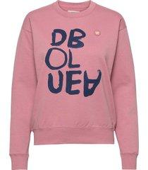 jess sweatshirt sweat-shirt trui roze wood wood