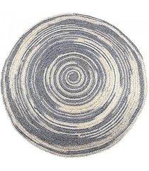 dywan okrągły jutowy melanż ii