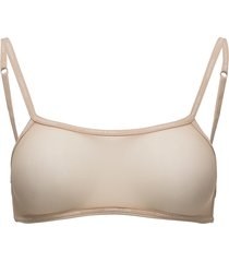 bralette unlined back closure lingerie bras & tops bra without wire beige calvin klein