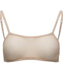 bralette unlined back closure lingerie bras & tops bra without wire beige calvin klein