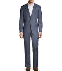 milburn iim series classic-fit pinstripe wool suit