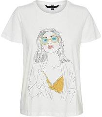 t-shirt vmbert gele bikini