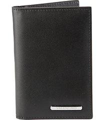 mattia sauvage leather bifold card case wallet