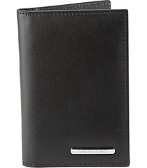 mattia sauvage leather bifold card case wallet