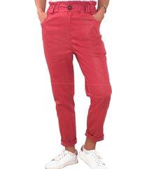 pantalon berlin rojo ragged pf12310290