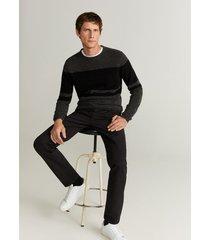 colorblock trui