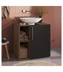 balcão para banheiro criando mobilia gb05 gabinete 1 porta
