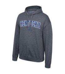 top of the world kentucky wildcats men's arch logo hooded sweatshirt