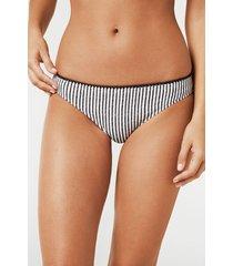 calzedonia charlotte bikini bottoms woman black size 3