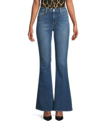 l'agence women's sophie high-rise flare jeans - blue - size 25 (2)