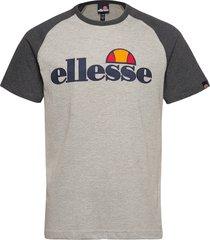 el coper tee t-shirts short-sleeved grå ellesse