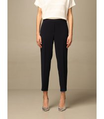 theory pants theory trousers with contrasting profiles