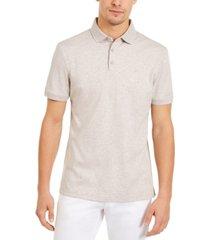 calvin klein men's liquid touch cotton polo shirt