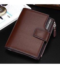 billetera super- billetera informal para hombres-marrón