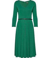 dresses knitted knälång klänning grön esprit collection