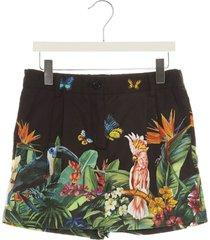 dolce & gabbana jungle mix shorts